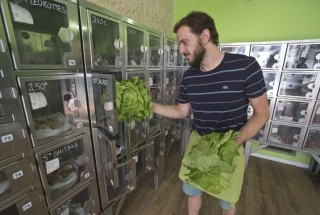 organic food self-serve stores