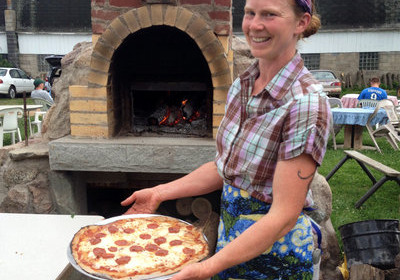 organic pizza, direct market, organic farming, organic agriculture