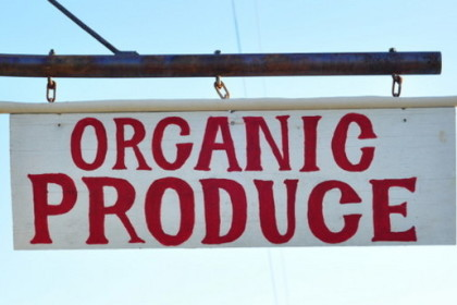 Organic produce marketing