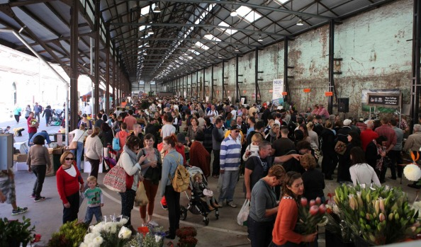 Farmers' markets make most of city foodies