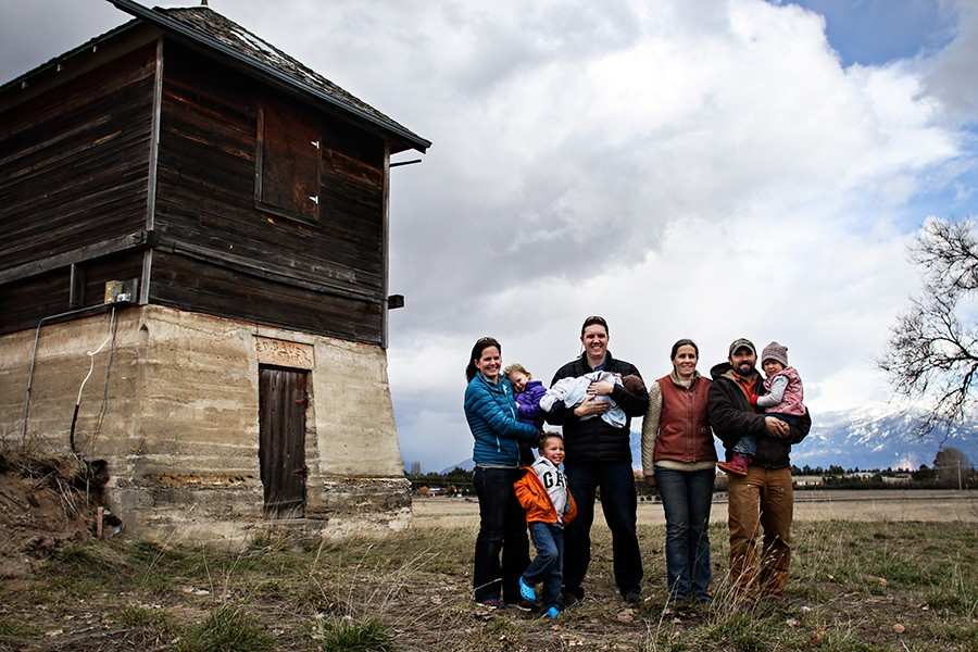 Families Team Up to Open Organic Farm in Kalispell